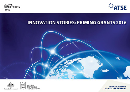 Cover of documnet - The Global Connections Fund - Innovation Stories: Priming Grants 2016
