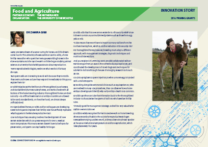 Food and Agriculture - The Global Connections Fund - Innovation Stories: Priming Grants 2016