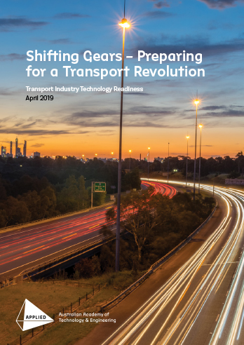 2019 Transport Industry Technology Readiness report cover