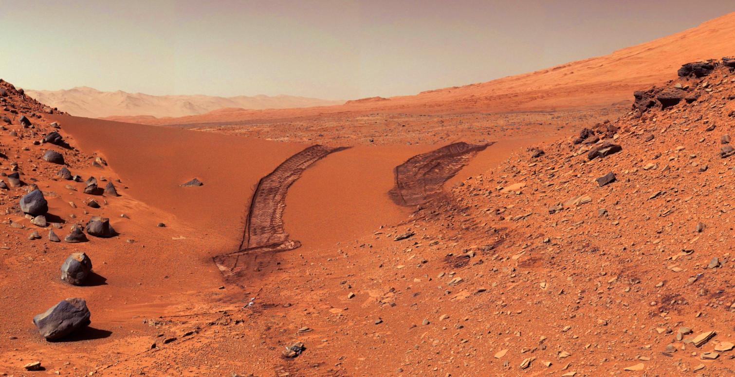 Mars Surface full width