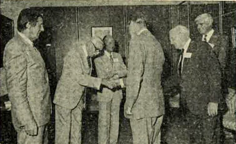 Bill Whitton with Prince Philip