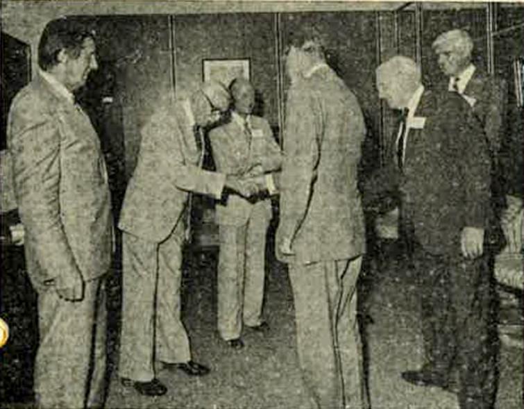 Bill Whitton with Prince Phillip