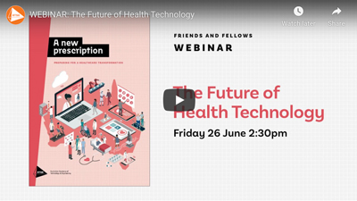 ATSE webinar The Future of Health Technology
