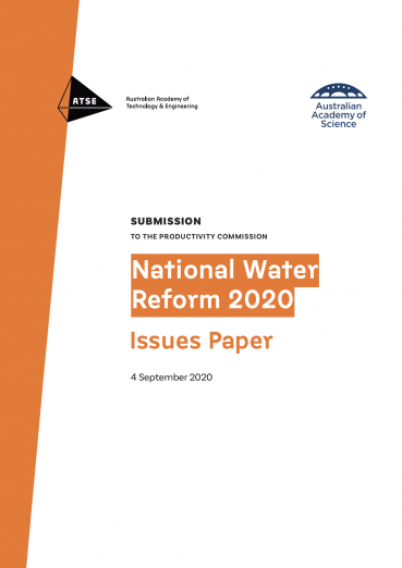National Water reform Submission