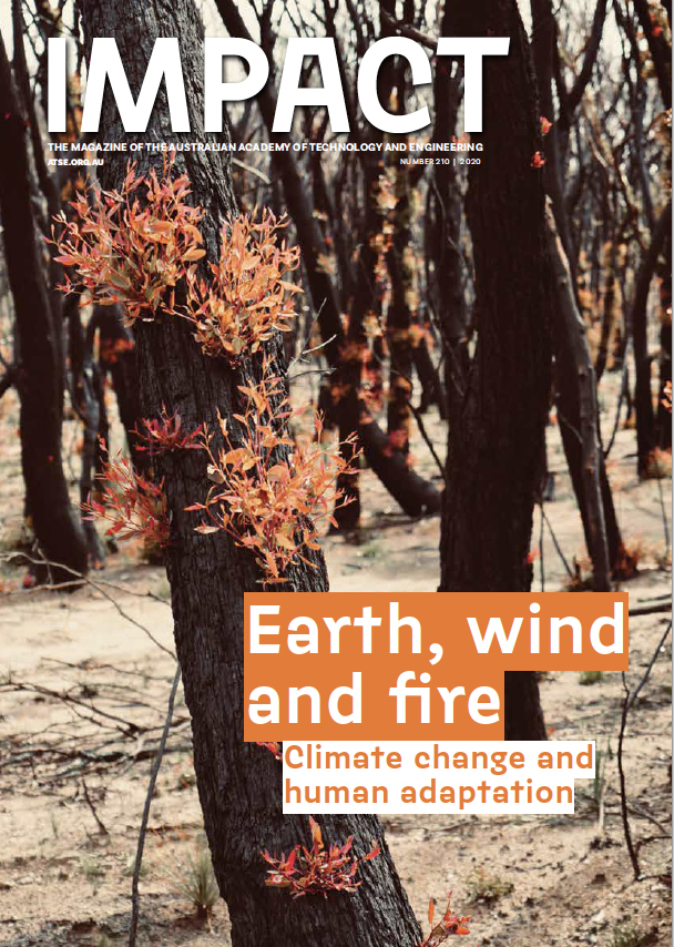 ATSE Impact magazine cover