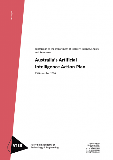Australia's Artificial Intelligence Action Plan