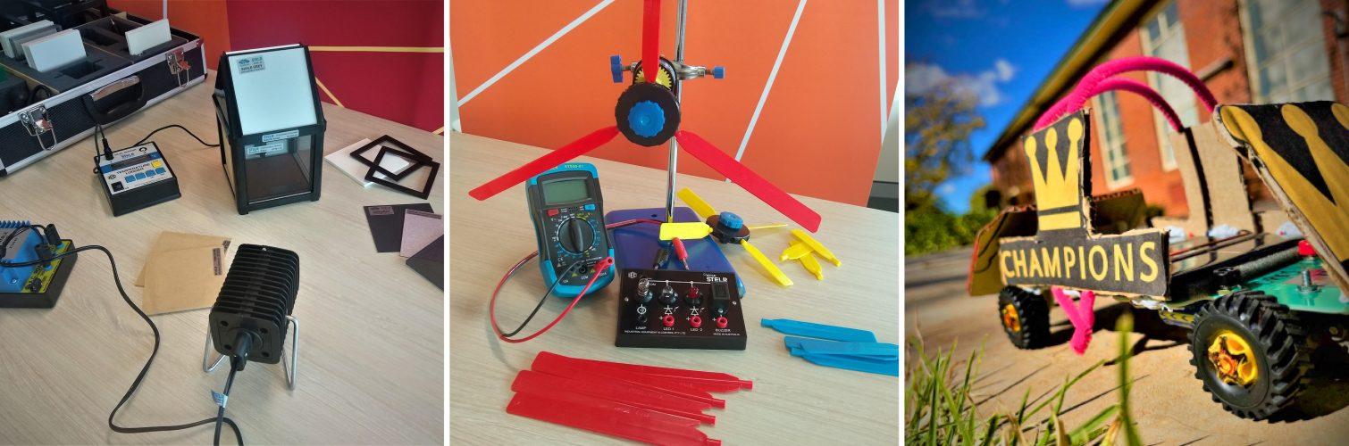 STELR science kits in schools