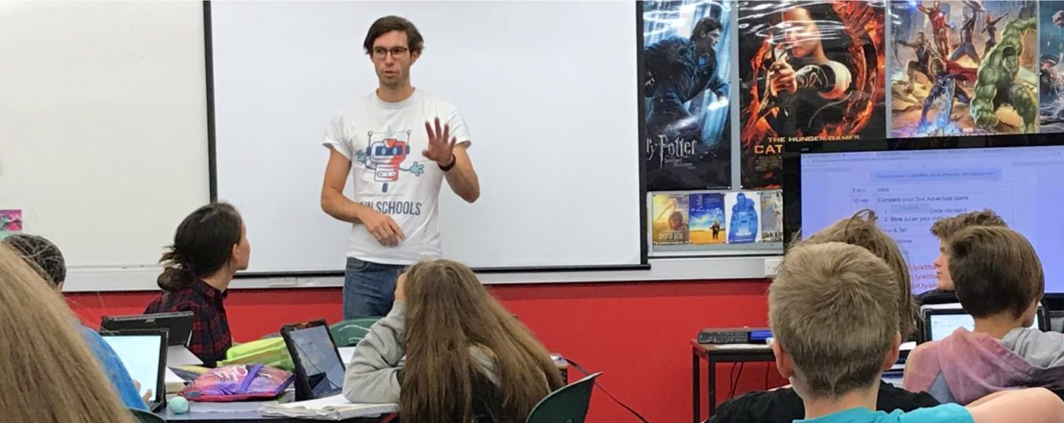 Teaching coding in schools